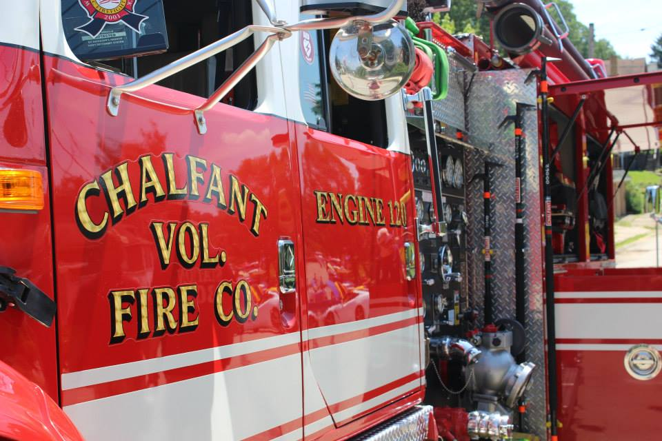 Chalfant Fire Truck
